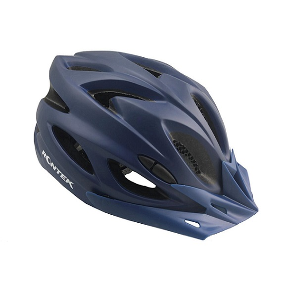 Capacete Adulto In-Mold RT-58 Azul Navy Com Led