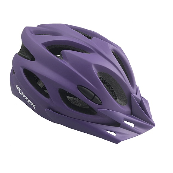 Capacete Adulto In-Mold RT-58 Ultra Violeta Com Led